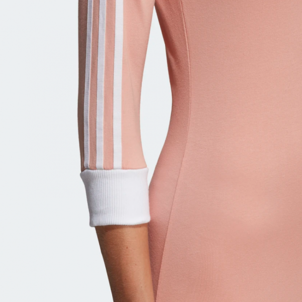 5adidas 3-Stripes Dress Pink DV2565