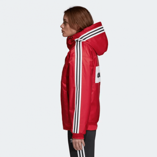 2adidas SST Stadion Jacket Real Red DH4570