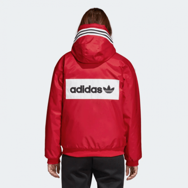 3adidas SST Stadion Jacket Real Red DH4570