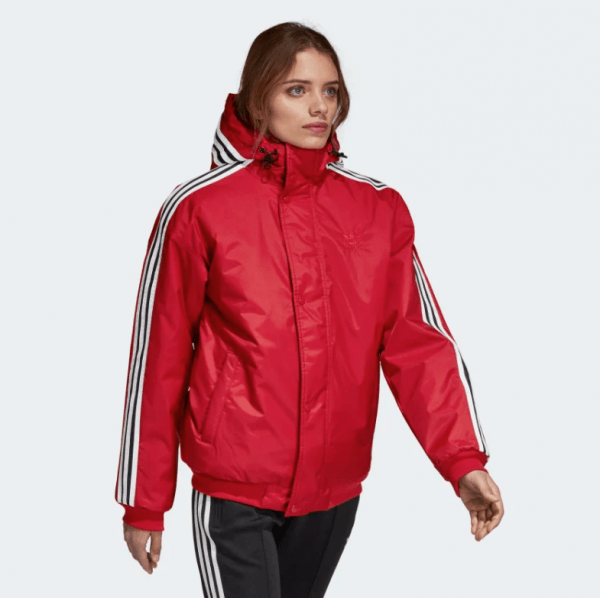 4adidas SST Stadion Jacket Real Red DH4570