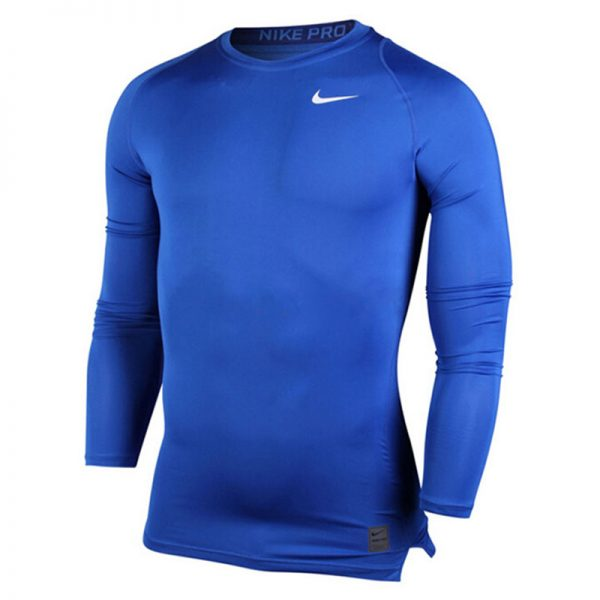 1 Nike Pro Cool Compression Long-Sleeve Blue