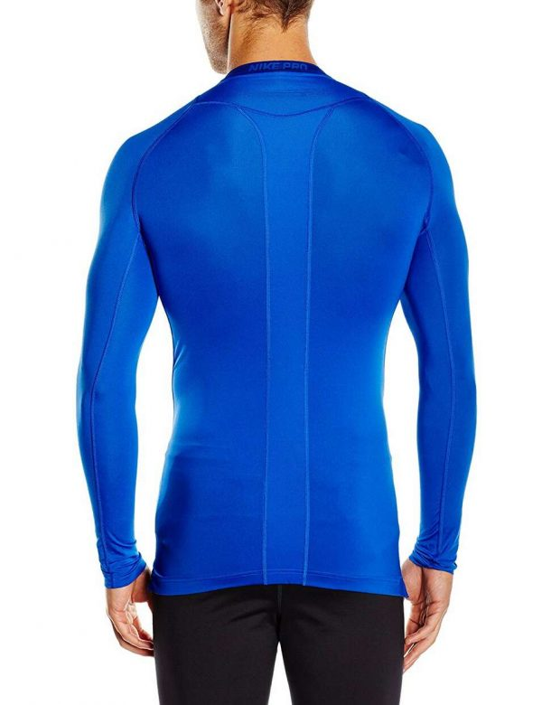 3 Nike Pro Cool Compression Long-Sleeve Blue